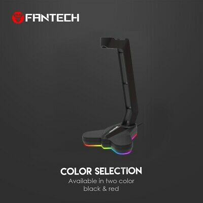 AU31.99 • Buy FANTECH AC3001S RGB Headphone Stand Anti-Slip And Base Is Aggravating For MuL7M4
