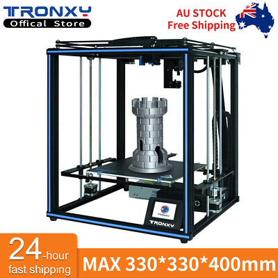 AU599.99 • Buy 3D Printer X5SA PRO CoreXY Titan Extruder 24V Auto Level Tronxy Guide Rail TPU