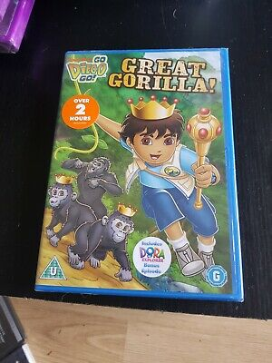 Go Diego Go! - Great Gorilla (DVD, 2013) Brand New And Sealed • 4.99£