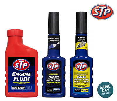 AU37.09 • Buy STP DPF Particulate Filter Cleaner + Engine Flush + Diesel Injector Cleaner