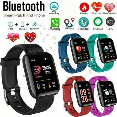 $ CDN13.99 • Buy Smart Watch Heart Rate Monitor Fit Activity Tracker Iwatch Android Touch Screen
