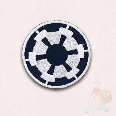 £1.99 • Buy STAR WARS Movies Iron Or Sew On Embroidered Patch -  BLACK IMPERIAL FORCES