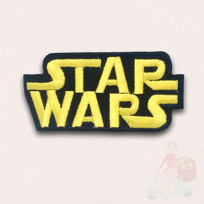 £1.98 • Buy STAR WARS Movies Iron Or Sew On Embroidered Patches - STAR WARS CLASSIC LOGO