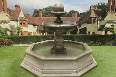 Brecon Pool Surround Large Regis Ball Stone Garden Water Fountain Feature • 3,339.60£