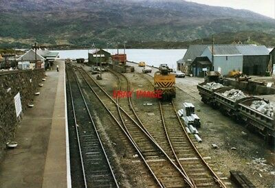 Photo  1984 Kyle Of Lochalsh Railway Station West Side Despite The Sidings There • 2.80£