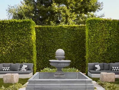 £2793.68 • Buy Hampshire Ball Fountain, Square Chester Pool Surround Stone Garden Water Feature