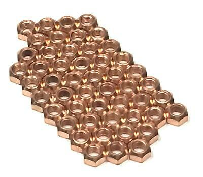 50x M8 Copper Flashed Exhaust Manifold 8mm Nut - High Temperature Nuts • 9.99£