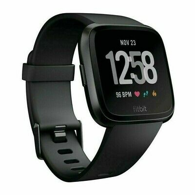 $ CDN106.54 • Buy Fitbit Versa Smart Watch Fitness Activity Tracker Black New