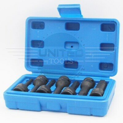 "IMPACT HEX BIT Socket Set 3/8"" Drive Impact Allen Keys H4 To H12 Socket Sets • 14.99£"
