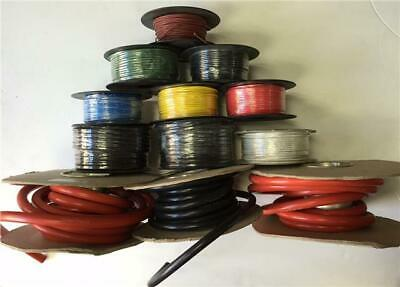 50M Meter Roll 5.75Amp Single Core Wire Red Auto Cable Car Loom Flex 14 Strand • 11.83£