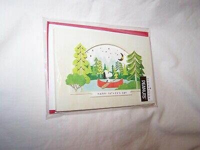 $6 • Buy Hallmark Signature Father's Day Greeting Card/Envelope; Peanuts  Snoopy