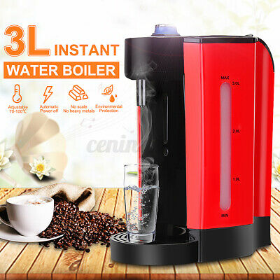 AU60.99 • Buy Electric Instant Hot Water Boiler Dispenser Kettle Machine 3L 2200W Max 220V