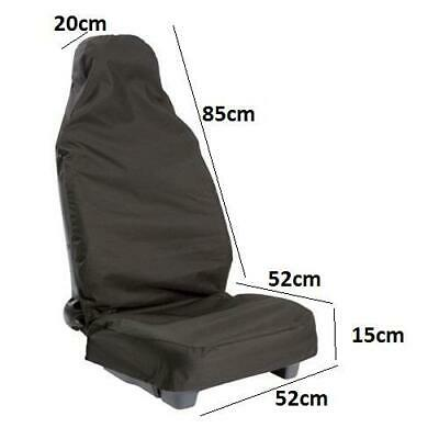 $22.92 • Buy Mechanic Anti Dirt Seat Covers Black Protection From Grease Dirt Of Work Pair