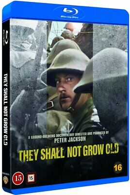 $18.99 • Buy THEY SHALL NOT GROW OLD (2018) Blu-Ray BRAND NEW Free Ship