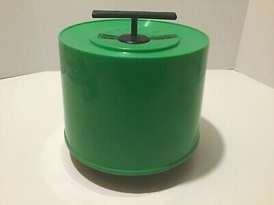 $25 • Buy Vintage Record 45RPM Carry Tote Holder - Green