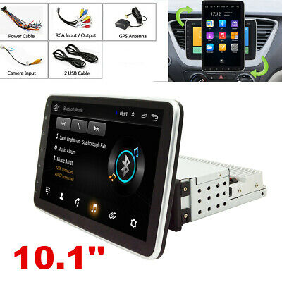 AU258.24 • Buy 10.1in Single 1Din Android 9.0 Car Stereo Radio Wifi GPS Navigation Head Unit