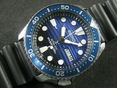 $ CDN316.37 • Buy SEIKO SKX007 Mod Prospex Save The Ocean NH36 Hack  Winding Movement Water Proof
