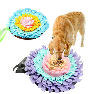 AU26.08 • Buy Green House Dog Snuffle Mat Pet Puzzle Toy Sniffing Training Pad Washable!1
