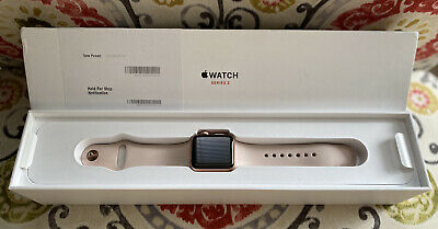 $ CDN210.51 • Buy Apple Watch Series 3 - Rose Gold With Pink Sand Sport Band (GPS + Cellular) -...