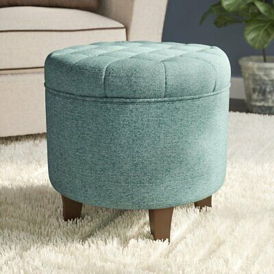 $145 • Buy Poston 19  Tufted Round Storage Ottoman