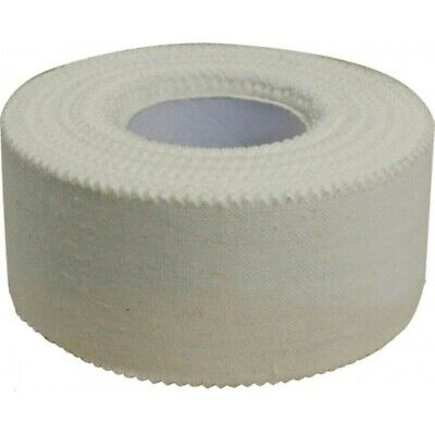 Zinc Oxide Strapping Tape Exercise & Fitness Multi Sports Tapes White Tearable • 7.99£