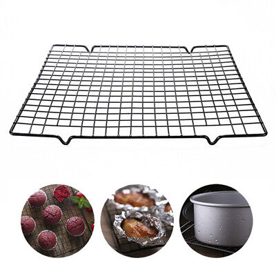 Cake Cooling Rack Non-stick Rectangle Kitchen Tool Baking Cookies Biscuits Rack • 5.52£