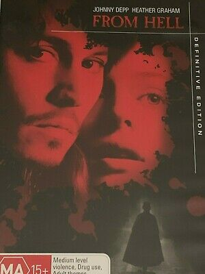 AU6.95 • Buy From Hell Johnny Depp & Heather Graham  ( 2-Disc Set) DVD