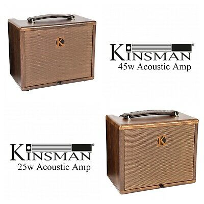 £129.99 • Buy Kinsman  Portable Acoustic Mains / Battery Powered Busking Amp 25w / 45w