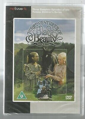 THE ADVENTURES OF BLACK BEAUTY - Sealed/new UK REGION 2 DVD - Three Episodes • 18.99£