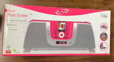 $19.99 • Buy Portable Ilive Music System. Dock Plays And Charges IPod.