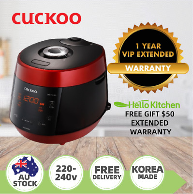 AU415 • Buy Cuckoo Rice Pressure Cooker 10 Cups CRP-P1009S - 2 Years Warranty