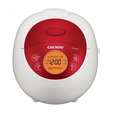 AU210 • Buy Cuckoo Electric Rice Cooker 3 Cup CR-0351F Fuzzy Series - 2 Years Warranty