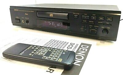 DENON DCD-655 Audiophile Compact Disc CD Player With Accessories * SERVICED * • 95£