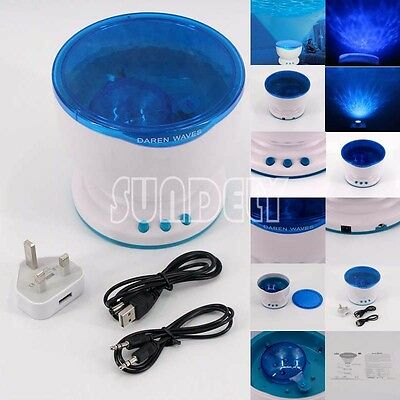 Calming Autism Sensory LED Light Projector Toy Relax Night Music Projection NEW • 18.95£