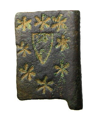 £635 • Buy **Medieval Heraldic Banner Pendant Shield Surrounded By Stars**OA758