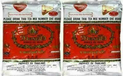 $16.45 • Buy The Original Thai Iced Tea Mix (TWO Bags) ~ Number One Brand Imported From