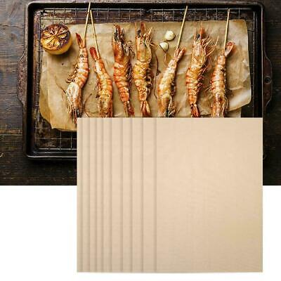 AU21.89 • Buy 10PCS Non-Stick BBQ Grill Mat Reusable Bake Sheet Resistant Meat Barbecue Mat AU