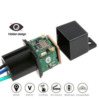 Car GPS Tracker Relay GPS Tracking Spy Security Device Cut Off Oil System ZT • 18.20£