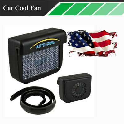 $14.88 • Buy US Stock Solar Power Car Window Air Vent Cool Fan Deodorization Tool For Summer