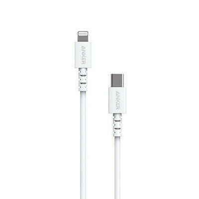 AU32.50 • Buy Anker PowerLine II USBC To Lightning Charging Cable For IPhones IPads White 0.9m