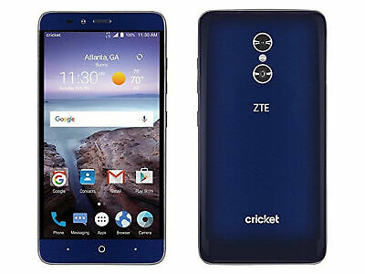 $60.83 • Buy ZTE Blade X Max | Grade B+ | Cricket | Blue | 32 GB | 6 In Screen