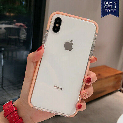 AU10.68 • Buy For IPhone 11 8 Plus 7 XR XS Max Crystal Clear Case Girls Lovely Soft Gel Cover