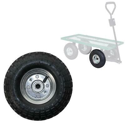 10  Wheel 4.10/3.50-4 With Pneumatic Rubber Tyre For Trolley Sack Barrow Trailer • 14.99£