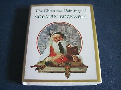 $ CDN14.45 • Buy 1993 Miniature Book - The Christmas Paintings Of Norman Rockwell - Ariel Books