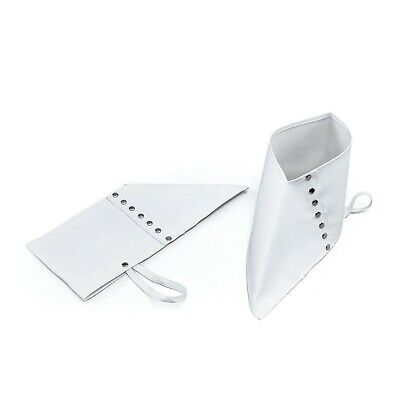 White Gangster Spats 1920s Fancy Dress Costume Shoes Accessory Michael Jackson • 3.99£