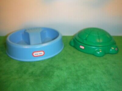 $69.99 • Buy Little Tikes  Doll House Size Swimming Pool & Turtle Sand Box