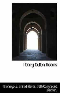 AU24.51 • Buy Henry Cullen Adams