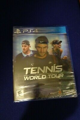 AU37.87 • Buy PS4 Tennis World Tour Game Sony PlayStation 4 NEW Sealed