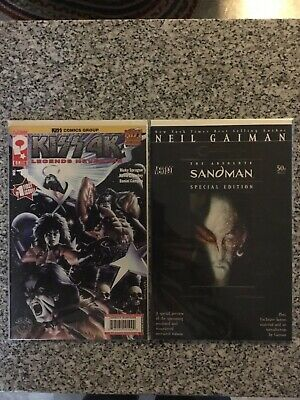 $1 • Buy Kiss 4K Issues #1 And The Absolute Sandman Special Edition