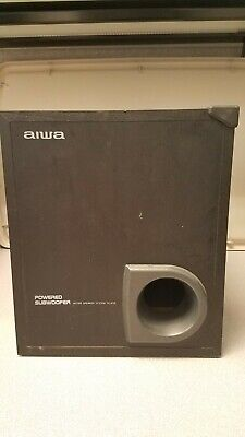 $42.99 • Buy AIWA SUBWOOFER TS-W35U Active Speaker System UNTESTED